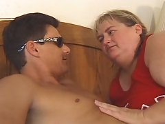 Super fat beach patrol babe greasy pussy pumping fun