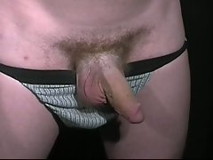 Horny gay frat blindfolded for hardcore jerking initiation