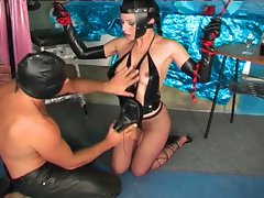 Hot fetish action by this sweet whore