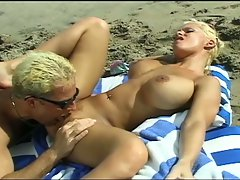 Blonde babe get hard drilled by a white hard cock