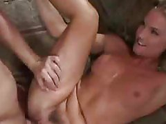 The hot and slim blonde is fucked deep and hard