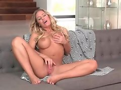 Big tits Nicole Aniston solo masturbation