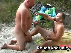 Alluring hair and plumper gay men screwing part6