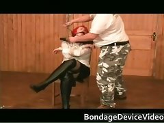 Fantasic juggs titties Red Wig great bdsm part3