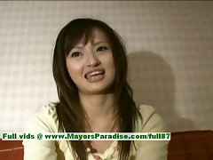 Saori innocent randy asian girlie is talking about sex
