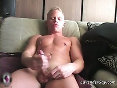 Gay solo with Pete Ross by LavenderGay part4