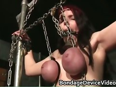 Boobed Tightly tied intense bdsm part3