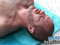 Horny gay bears hammering and drilling part1