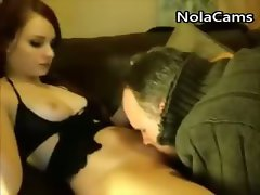 Webcam Whore Gets Muff Eaten