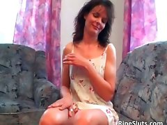 Sensual aged dark haired gets dripping bushy part5