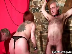 Alluring tattooed babe got spanked badly part1