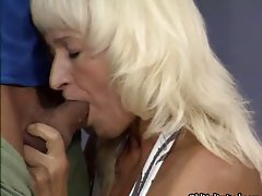 Filthy blond married woman gets alluring part1