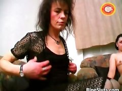 Whorish attractive mature dark haired gets shaggy quim part6