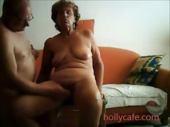 Experienced dirty wife is toyed by her hubby better half toy