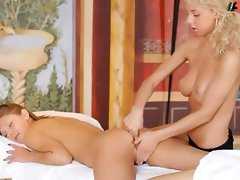 so erotic massage between blonds