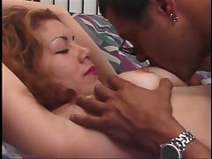 Sensual bimbo whor getting muff nailed