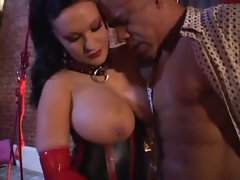 Buxom Latex Filthy bitch Rosanna Rose