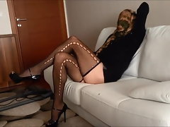Sensual Married woman Clean Home