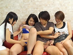 JAV having bang-out while my friend sees starts Subtitled