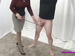 Jizm On Female dominance Mistress Pantyhose Gams